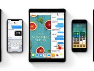 Un projet d'application sur iOS 11 ?